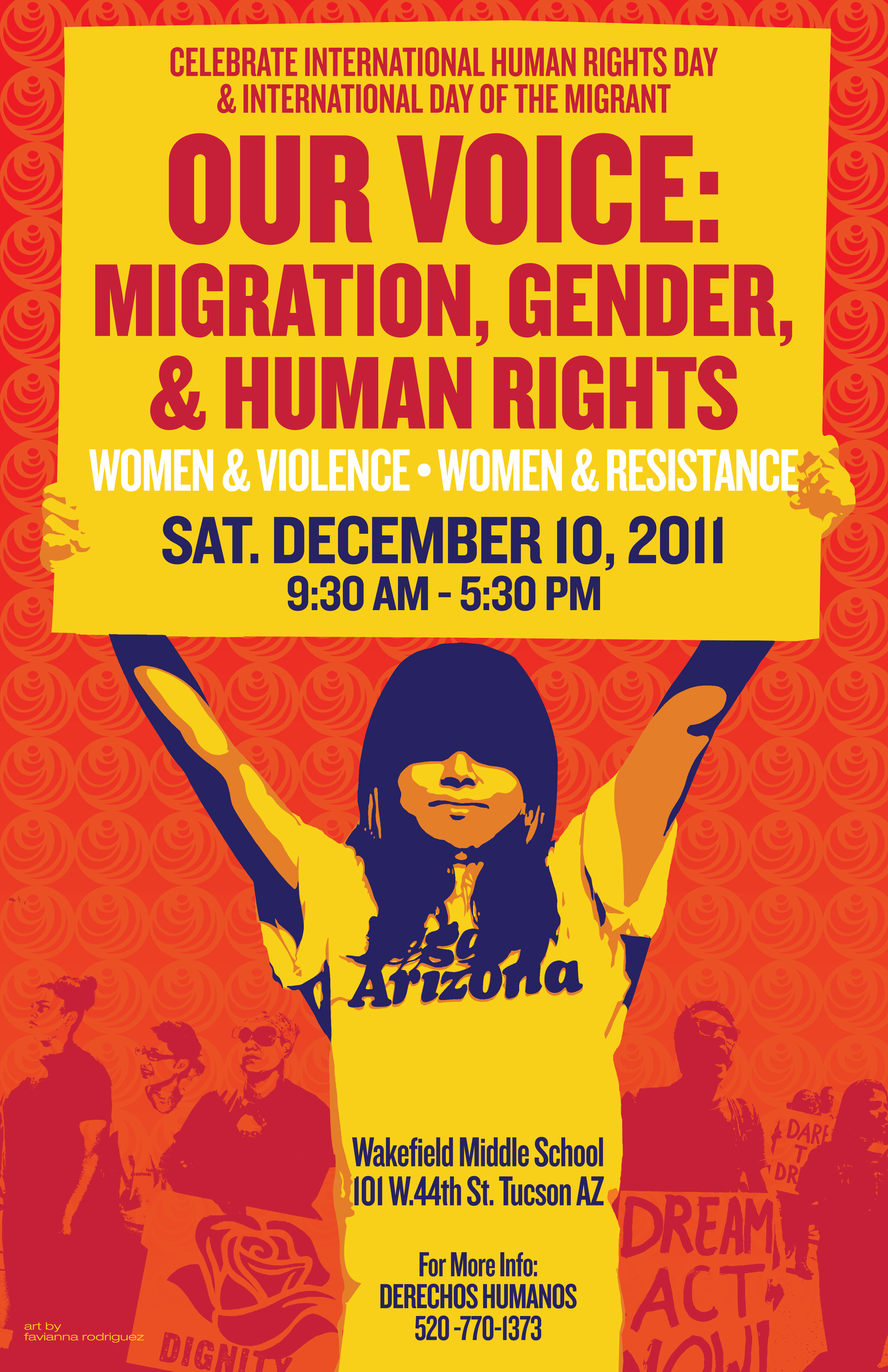 Dec 10: Nuestra Voz/Our Voice: Migration, Gender, and Human Rights